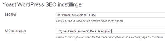 SEO Title Meta Description Kategori