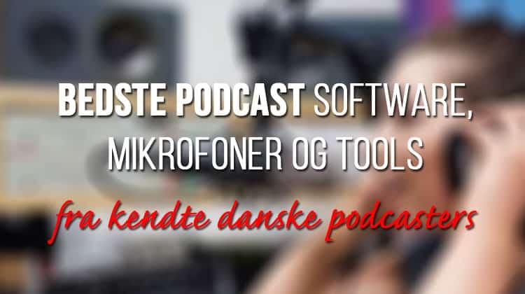 bedste podcast software