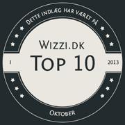 Wizzi.dk Top 10 Oktober 2013