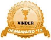 Vinder 2012 - Bedste Podcast