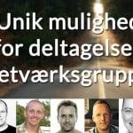 unik mulighed for deltagelse i netværksgruppe