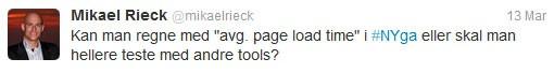 Twitter spørgsmål