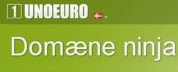 Billig webhosting hos UnoEuro