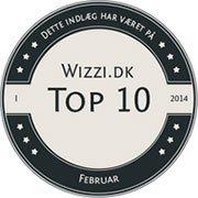 Wizzi.dk Top 10 Februar 2014