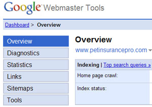 Googles Webmaster Tools