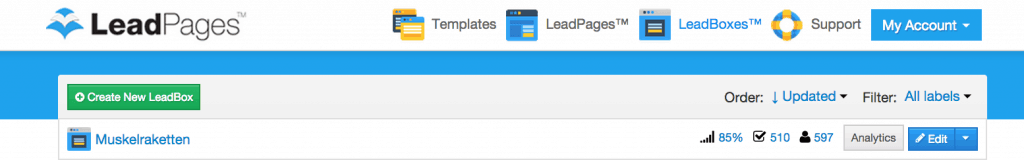 Leadpages Data