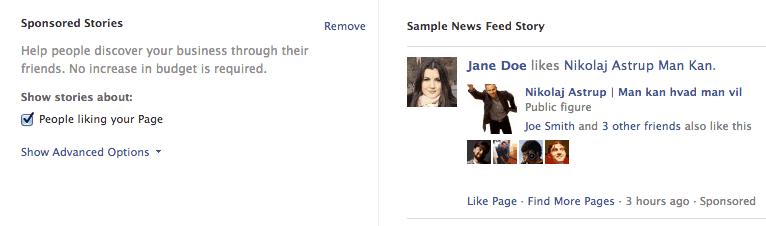 Social proof med facebook annoncer