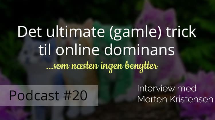 Ultimative trick til online dominans