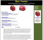 Blue Toaster