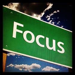 Holde fokus