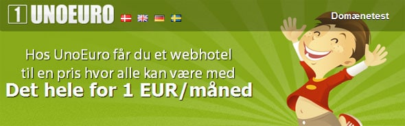 Unoeuro webhotel